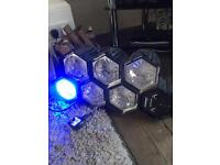 6 light Dj lights