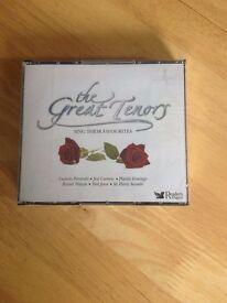 The Great Tenors CD