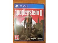 WOLFENSTEIN II (2): THE NEW COLOSSUS - PLAYSTATION 4 (PS4) GAME, 2017