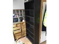 ikea Black Book And Storage Cabinet
