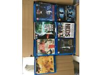 Blu rays - various titles and genres 78 in total
