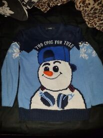 Childs Christmas Jumper age 6-7