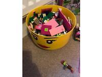 Lego and Cinderella castle