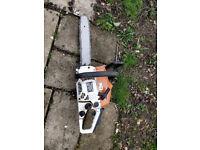 petrol 14 inch chainsaw