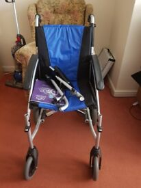 Folding Wheelchair - Collection only