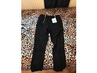 Black Glamourous Trousers Size 8
