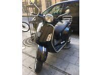 Black 2010 Vespa Gts I.E 125cc £1399