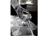 Crystal boxing glove