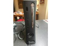 Xbox 360 120GB in good condition, wireless networking adapter, 2 controllers and 7 games