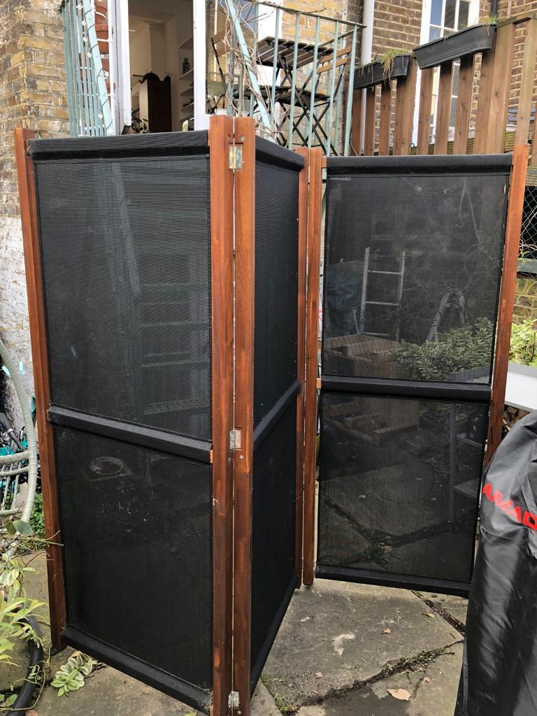 2x Ikea Slatto Garden Screens In Camden Town London