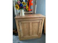 Large pine cupboard