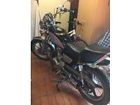 125 cc Motorbike