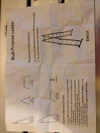 Multi-Purpose Ladder VonHaus 4.7m (15.5ft)