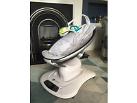 4moms® mamaRoo® Infant Seat - Silver Plush 2016 model