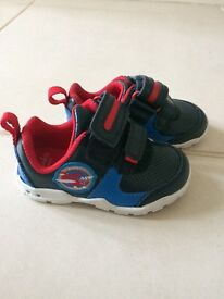 Clarks flashing first shoes- excellent condition