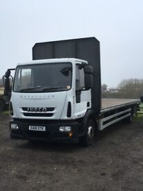 2011 IVECO FLAT BED / PALLET LORRY