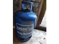Empty Calor gas bottles 15kg