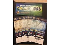 ICC champions trophy India vs SA, Semifinal and Final tickets