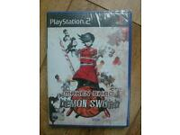 PS2 sealed Maken Shao Demon Sword
