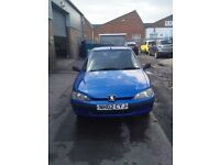 Peugeot 106, very reliable first car, cheap insurance