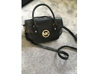 Michael Kors real leather handbag