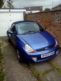 Ford streetka blue vgc