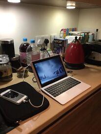 HP Netbook X2 10.1 Inch Intel Atom 2 in 1 Laptop - bundle of accessories!!
