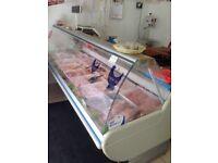 For sale serve over display fridge