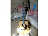 Martin 00018 with Martin Hard Case - K&K Pure Mini Professionally Installed