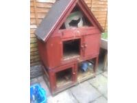 3 story Ginea pig /Hamster house cage