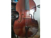 Double Bass - A. Schroetter - 3/4 - Rockabilly setup