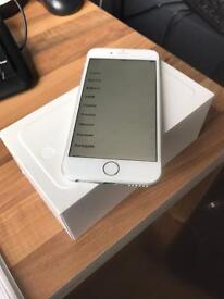 Iphone 6, 64gb, white, on vodafone network, like new, NO SCRATCHES