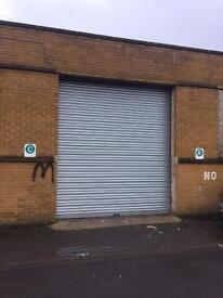 Secure Units / workshops to let / rent in West Yorkshire Halifax. HX1. 3600 square ft industrial
