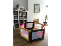 TikkTokk Pokano Fabric Playpen