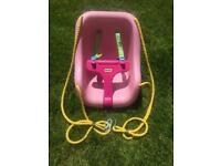 Little Tikes pink toddler swing