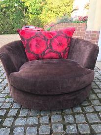 Sueno Strata Cuddler Swivel Chair SOLD