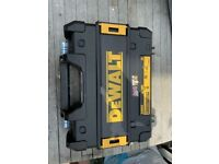 DeWALT BOX for tools NEW never been used