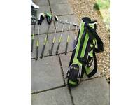Childs left handed golf clubs