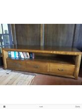 Shack mango wood 'New York' entertainment unit Northbridge Willoughby Area Preview