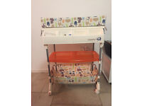 Casatto Changing Table, Bath and Storage Unit