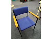 Summit Saltford 19 S2SW Stackable office chairs