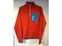 Ortovox (MI) Mens Merino Wool Fleece Orange Size Medium