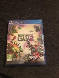 PS4 PLANTS VS ZOMBIES 2