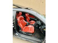 2007 Hyundai Coupe - Red leather