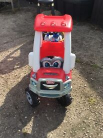 Little tikes fire engine