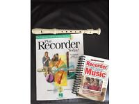 Recorder and learning books