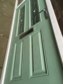 Chardwell green brand new with bevel glass not used size 1030x2700