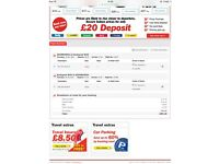 £200 Return Flight from Edinburgh to Budapest for 1 over New Year