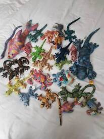collection of sand animals