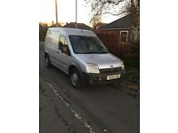 Ford transit connect 1.8td Lx 05 plate lab high top